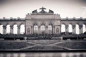 The Gloriette in Schoenbrunn Palace Garden — Stock Photo