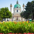 St. Charles's Church in Vienna — Stock Photo #50885863