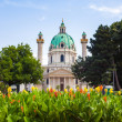 St. Charles's Church in Vienna — Stock Photo #50885993