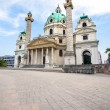 St. Charles's Church in Vienna — Stock Photo #51268873