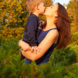 Young mother and son — Stock Photo #17164013