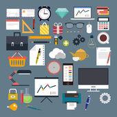 Big set. Business, Economy, Web, Internet, vector — Stock Vector
