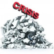 Royalty-Free Stock Vector Image: Economic crisis