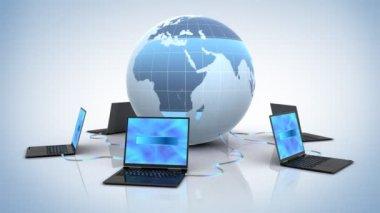 Global Network — Stock Video