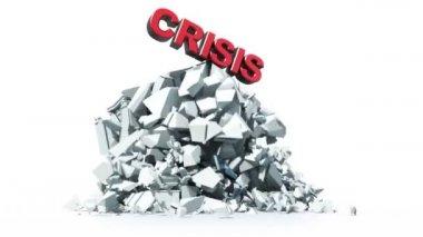 Economic crisis — Stock Video