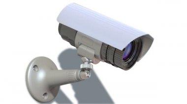 Surveillance camera — Stock Video