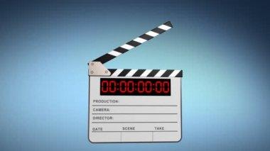 Clapper board — Stock Video