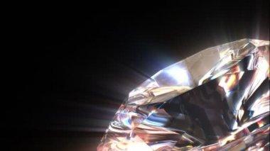 すべての部品はループことが美しいダイヤモンドです。 — ストックビデオ