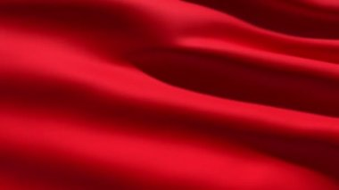 Red flag background — Stock Video