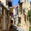 Old town in Crete — Stock Photo