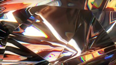 4k close-up slowly rotating diamond — Stock Video