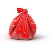Santa s sack of gifts — Stock Photo