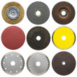 Stock Photo: Abrasive disks