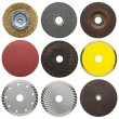 Abrasive disks - Stock Photo