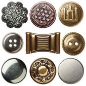Vintage buttons — Stock Photo