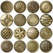 Bronze buttons — Stock Photo #12273311