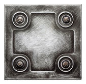 金属板 — 图库照片