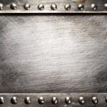 Metal plate — Stock Photo #13436557
