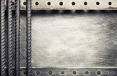 Metal background — Stock Photo