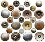Botones de los pantalones vaqueros — Foto de Stock