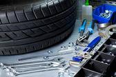 Auto repairing — Stock Photo