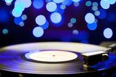 Vinyl turntable — Stock Photo