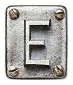 Metall buchstaben — Stockfoto
