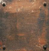 Placa de metal — Foto de Stock