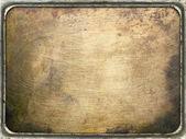 Metal plate — Stock Photo