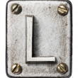 Metal letter — Stock Photo #22462377