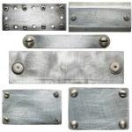 Metal plates — Stock Photo #23597525