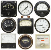Old gauges — Stock fotografie