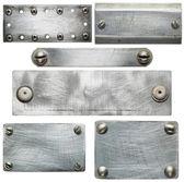 Metalen platen — Stockfoto