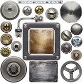 Detalhes de metal — Foto Stock