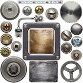 Dettagli in metallo — Foto Stock