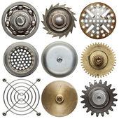 Round metal — Stock Photo