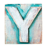 Wooden alphabet — Stockfoto