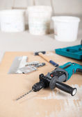 Electric drill — Stock Photo