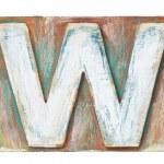 Wooden alphabet — Stock Photo #30309005