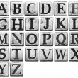 Metal letters — Stock Photo #32582515