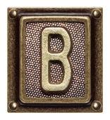 Düğme alfabesi — Stok fotoğraf