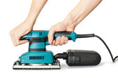 Electrical sander — Stock Photo