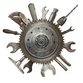 Rusty tools — Stock Photo