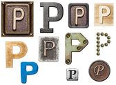 Alfabet — Zdjęcie stockowe