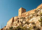 Alcazaba in almeria — Stock Photo