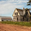 Stock Photo: Dilapidated dwelling