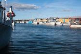 Fishing harbor — Stock Photo