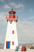 Arcadian Lighthouse — Stock Photo