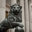 Stock Photo: Lion symbol madrid