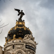 Metropolis in Madrid — Stock Photo